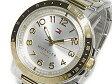 トミー ヒルフィガー TOMMY HILFIGER メンズ 腕時計 1781398 ゴールド×シルバー メタルベルト