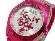 VIVIENNE WESTWOOD ヴィヴィアン ウエストウッドロゴ レディース 腕時計 VV072SLPK シルバー×ピンク メタルベルト ブレスレット