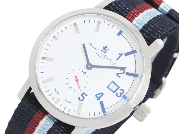 スマートターンアウト SMART TURNOUT 40mm スイス製 腕時計 STC1-NS20 メンズ レディース 送料無料/Smart Turnout 時計 腕時計 ウォッチ
