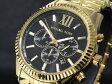 マイケルコース MICHAEL KORS レキシントン クロノグラフ メンズ 腕時計 MK8286 ゴールド
