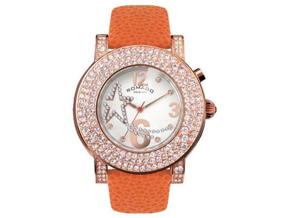 ロマゴ デザイン ROMAGO DESIGN 腕時計 レディース RM013-1607ST-OR 送料無料/ロマゴデザイン ROMAGO 時計 腕時計 ウォッチ
