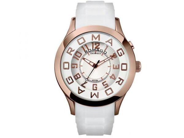ロマゴ デザイン ROMAGO DESIGN 腕時計 メンズ レディース ユニセックス RM015-0162PL-RGWH 送料無料/ロマゴデザイン ROMAGO 時計 腕時計 ウォッチ