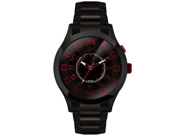 ロマゴ デザイン ROMAGO DESIGN 腕時計 メンズ レディース ユニセックス RM015-0162SS-BKRD 送料無料/ロマゴデザイン ROMAGO 時計 腕時計 ウォッチ