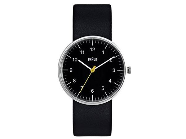 ブラウン BRAUN クオーツ メンズ 腕時計 BN0021BKBKG ブラック レザーベルト 送料無料/BRAUN ブラウン 時計 腕時計 ウォッチ