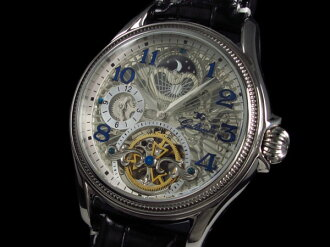 GALLUCCI Gallucci watch skeleton automatic winding WT23145SK-SS