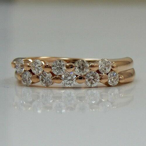 18金ピンクゴールド(K18PG)ダイヤモンド...の紹介画像2