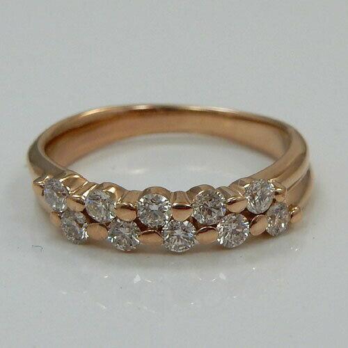 18金ピンクゴールド(K18PG)ダイヤモンド0...の商品画像