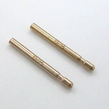 K18PGピアス芯(太さ0.9mm長さ10mm)の商品画像