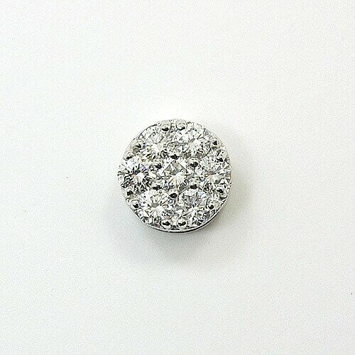 18金ホワイトゴールド/18金ゴールド2種類からお選びいただけます。ダイヤモンド ペンダントヘッドtypeAA 送料無料 即納品(4日前後発送)