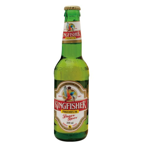 Kingfisher Premium Lager bottle 330 ml bottle beer KINGFISHER PREMIUM LAGER BEER India Beer sake is 20-year-old is from