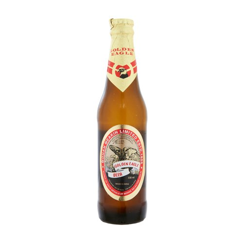 Golden Eagle 330 ml bottle is GOLDEN EAGLE India Beer wine bottle beer are 20 years old