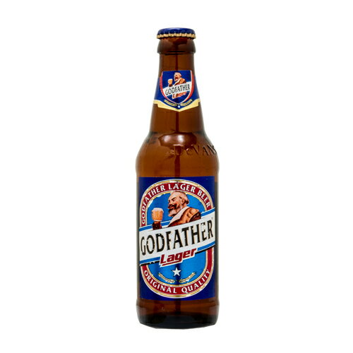 From getting to the 20-year-old is GOD FATHER LAGER alcohol bottle beer Godfather Lager bottle 330 ml