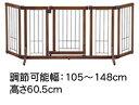 ○richell(リッチェル) ペット用木製おくだけドア付きゲート Mサイズ (ペット用品/進入防止/間仕切り)