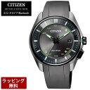 シチズン 腕時計 メンズ CITIZEN シチズン エコ・ドライブ ソーラー Bluetooth スーパーチタニウム デュラテクトDLC ユニセックス 腕時計 BZ4005-03E (大坂なおみ グランドスラム着用モデル)