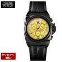 アイステック 腕時計 ICE TEK アイステック 【代引決済不可】 腕時計 Black IP Master Chrono ブラックイオンプレーティングマスタークロノ Yellow MOP MC-IP-9M
