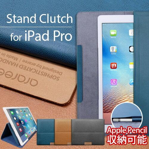 iPad Pro ������ �Хå��� �ݡ��� araree Stand Clutch�ʥ��� ������� ����å��˥����ѥå� �ץ�