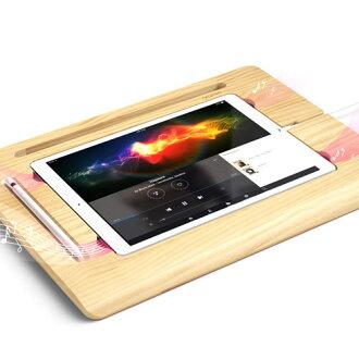 iPad Pro 站 araree 天然木制平板板 2 (麗特平面板 2) iPad Pro,親為 iPad,天然木材、 長凳、 表,真正的木材,木材,木