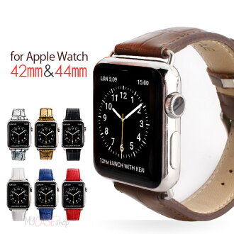 Apple Watch 帶 42 毫米 (系列 1,系列 2) 凝視鱷魚系列 Apple Watch 皮革、 皮帶和手錶,蘋果,時鐘帶,技術支援,皮帶,交流、 手錶、 皮革、 牛皮,鞣皮革,蘋果,可穿戴終端,鱷魚列印,38 毫米,42 毫米,智慧手錶