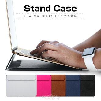 新的 D5 人造皮革 (d 5: 人造皮革) MacBook、 12 英寸支援、 簡單、 皮革、 MacBook 封面、 看臺、 天然牛皮