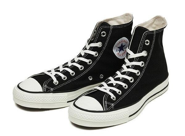 [日本製] 【converse】 コンバース CANVAS ALL STAR J HI キャンバス オールスター J ハイ F13 BLACK