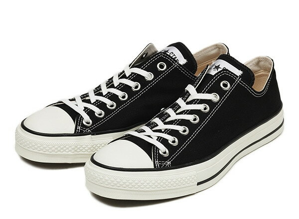 [日本製] 【converse】 コンバース CANVAS ALL STAR J OX キャンバス オールスター J オックス F13 BLACK