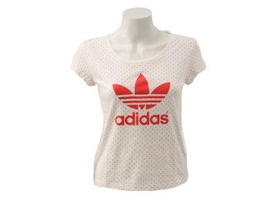 レディース ADIDASウェア  アディダスオリジナルス Tシャツ TREFOILTEEDIA F42057 F13 WSP HIRERE ABCマート楽天市場店
