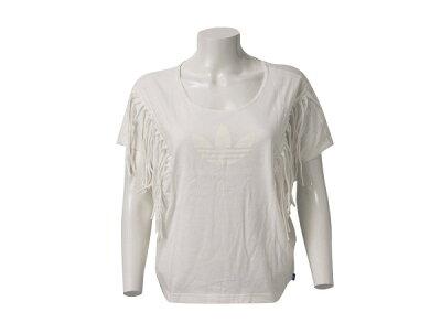 レディース ADIDASウェア  アディダスオリジナルス Tシャツ FRINGE TEE F79363 SP14 RUNWHI ABCマート楽天市場店