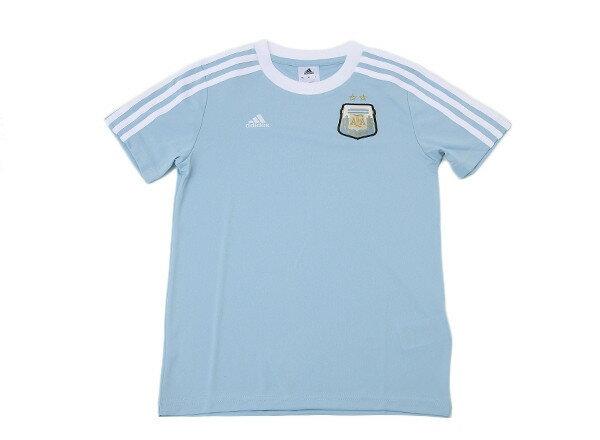 キッズ 【ADIDASウェア】 アディダス 14 アルゼンチン代表 Tシャツ 半袖 F84754 WSP COLBLU/WHT