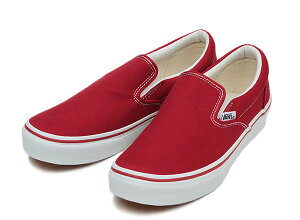 ��VANS�ۥХ�SLIPON����åݥ�V98CLAT.RED/ABC�ޡ��ȳ�ŷ�Ծ�Ź