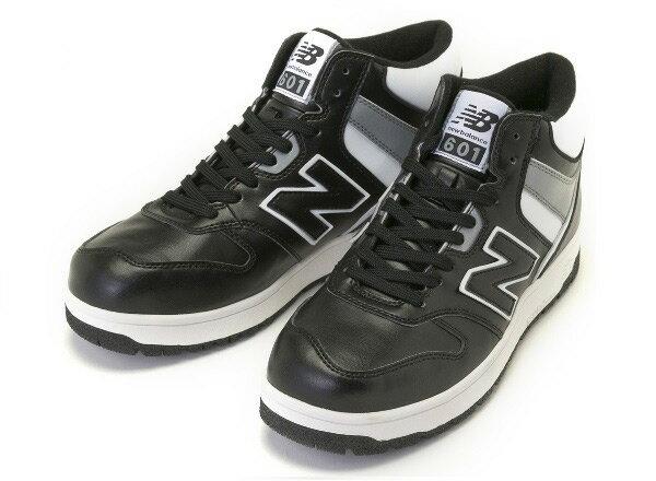 【NEW BALANCE】 ニューバランス SB601 14FW 冬靴 BLACK/GRAY(BGW)