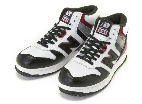 【NEW BALANCE】 ニューバランス SB601 14FW 冬靴 WHITE/RED(WRB)