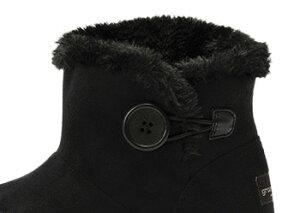 ≪TVCM≫レディース【HAWKINS】ホーキンスショートスノーブーツHW90075ROSEMARYI/H1.5インヒール1.5cm14WI冬靴BLACK/ABCマート楽天市場店