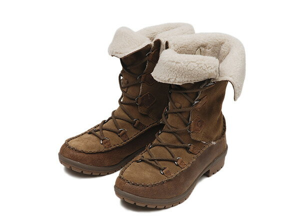 レディース 【MERRELL】 メレル EMERY LACE LEATHER HIGH エメリー レース レザー ハイ 69236 14FA 冬靴 OTTER
