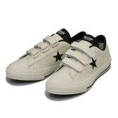 【CONVERSE】 コンバース ONE STAR V-3(A) ワンスター V-3 ABC-MART限定 WHITE/BLACK