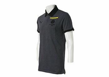 【PUMAウェア】 プーマ 15 BVB ボルシア ドルトムント T7 ポロシャツ 半袖 746927-01 WSP 01EBONY-BLACK