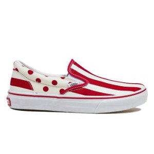 ��VANS�ۥХ�SLIPON����åݥ�V98CLSTDT15SPRED/WHITE/ABC�ޡ��ȳ�ŷ�Ծ�Ź