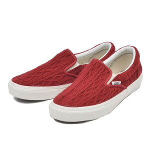 ��VANS�ۥХ�SLIPON����åݥ�V98CLCROCHET15FARED/ABC�ޡ��ȳ�ŷ�Ծ�Ź