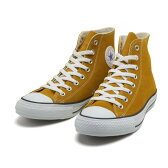 【CONVERSE】 コンバース SUEDE ALL STAR COLORS R HI スエード オールスター カラーズ R ハイ 32059263 GOLD