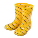 キッズ 【HAWKINS】 ホーキンス RAIN BOOTS(15-21) HK92019 YELLOW/STAR