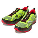 【SAUCONY】 サッカニー EXCURSION TR10 エクスカーション トレイル10 S25301-16 CITRON/BLK/RED