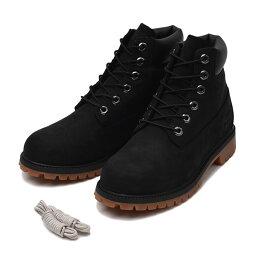 6インチキャンペーン 【Timberland】 ティンバーランド W'S 6 IN PREMIUM BOOT (JR) ウィメンズ 6インチ プレミアム ブーツ A19FD 16FA *BLACK ABC-MART限定 *BLACK