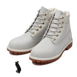 6インチキャンペーン 【Timberland】 ティンバーランド W'S 6 IN PREMIUM BOOT (JR) ウィメンズ 6インチ プレミアム ブーツ A19FH 16FA *WHITE