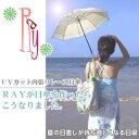 RAY UVカット内張りレース日傘