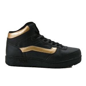 冬靴【VANS】ヴァンズハイカットスニーカーVLIZZARDMIDV8019PP15WIBLACK/GOLD