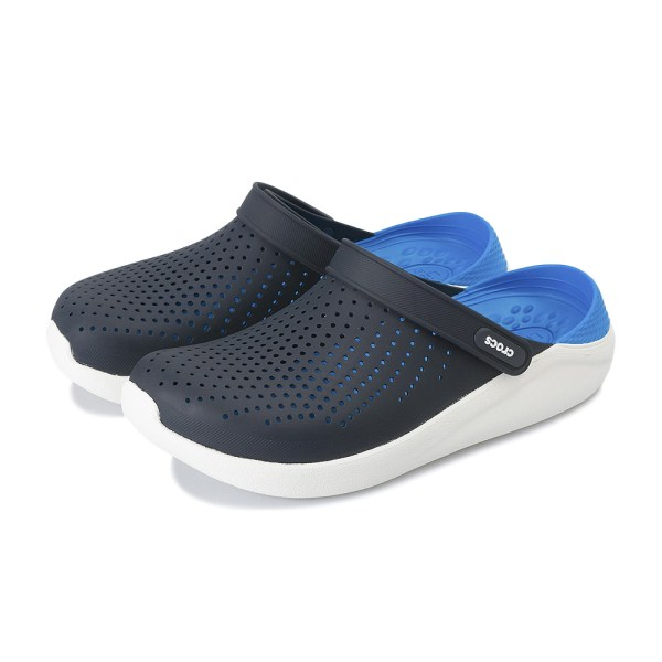 【crocs】 クロックス literide clog ライトライドクロッグ 204592-462 navy/white
