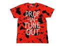 【VANSアパレル】 バンズ Tシャツ TUNE OUT TIE DYE VN-0UQX996 F13 KESEY ORANGE/ABCマート SPORTS PLAZA店