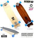 【サーフ ロングスケートボード】REKON 36 inch LONG SKATE【CRUISE】36 インチコンプリート格安品/サーフィン、スノーボードオフトレ...
