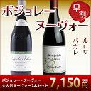 [2019]年ボジョレー・ヌーヴォー(750ml)2本[ワインセット](ルロワ&パカレ) 【赤ワイン】【ミディアムボディ】