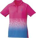 羽毛球 - 取寄せ品 【ゴーセン】 レディースゲームシャツ (T1703) 81 ピンク L