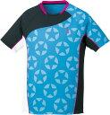 取寄せ品 【ゴーセン】 ホシガラゲームシャツ (T1714) 18 ターコイズブルー L